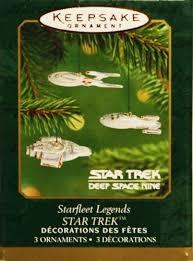 starfleet legends trek space nine hallmark
