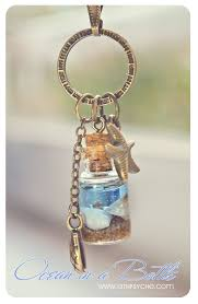 bottle necklace pendant images Ocean in a bottle necklace miniature mermaid glass bottle with jpg