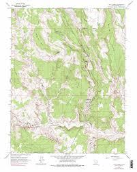 Bear Lake Utah Map by Calf Creek Topographic Map Ut Usgs Topo Quad 37111g4