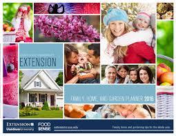 Family Home And Garden 2016 Family Home And Garden Planner By Utah State University