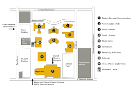 Palm Beach State College Map by Campus Map Dreyfoos Of The Arts Foundation