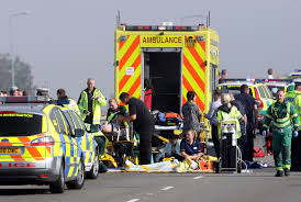 isle of sheppey crossing crash 130 car pile up amid thick fog on