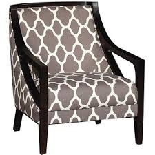 Accent Chairs Contemporary Gray Pattern Accent Chair Nigel Rc Willey Furniture