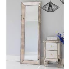 Venetian Mirrored Bedroom Furniture Antique Venetian Glass Bedside Table Luxury Table