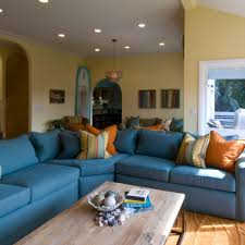 Large Sectional Sofa With Chaise by Navy Blue Sectional Couch Medium Size Of Sofas Blue Sectional