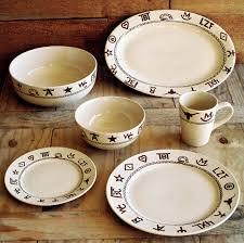 rustic ranch dinnerware set western kitchen pinterest