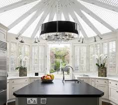 norman shutters kitchen contemporary with black and white kitchen