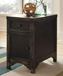 sensational chair side table with drawers for your small home
