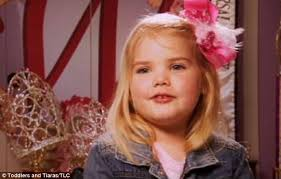 Toddlers And Tiaras Controversies Business Insider - toddlers tiaras star models at new york fashion week daily mail