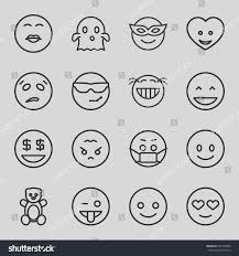 funny icons set set 16 funny stock vector 642709288 shutterstock