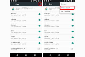 remove account android removing a account from android without deleting the account