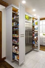 mid century modern kitchen storage cabinet finding the right pantry for your kitchen styles size and