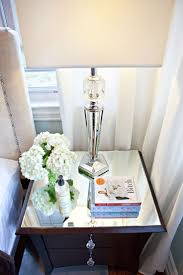 Mirrored Night Stands Best 25 Glass Nightstand Ideas On Pinterest Gold Nightstand