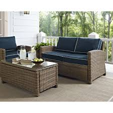 Cool Outdoor Furniture by Furniture Wicker Loveseat With Tray For Cozy Patio Furniture Ideas