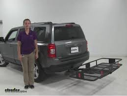 cargo rack for jeep best jeep patriot cargo carriers etrailer com