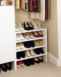 space organizers 20 space saving closet organizers simple closet shoes organizer