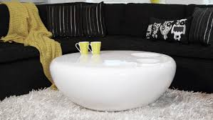 table white round coffee table modern traditional medium the