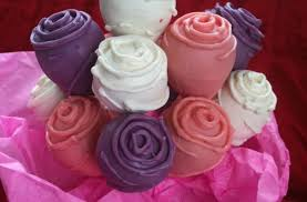 cake pop bouquet foodista cake pop roses form a delicious bouquet