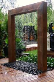 landscaping best 25 garden backyard fountains ideas with gravels