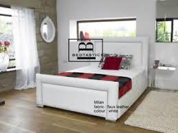 Milan Bed Frame Milan Upholstered Bed Frame Storage 3 Single 4 6 5 King