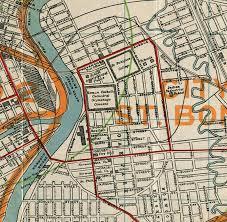 winnipeg map map of winnipeg manitoba canada 1917 maps and vintage