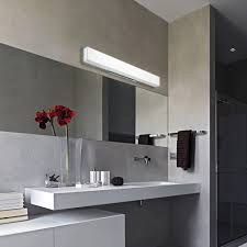 bathroom lights led monocle wall sconce from rich brilliant