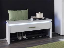 contemporary white storage bench modern contemporary storage
