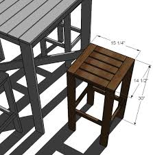 Wooden Bar Stool Plans Free by Bar Stool Woodworking Plans Popular Yellow Bar Stool Woodworking