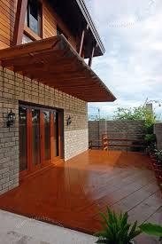 Lanai Area Design House Construction Company Batangas Quezon House Plans With Lanai