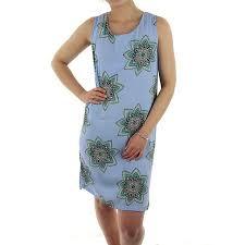 dresses batik sleeveless shift dress light blue floral elm www