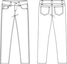 garment flat sketches for men google search introductory stage