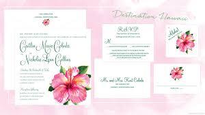 wedding invitations hawaii 29 hawaiian wedding invitations styles vizio wedding