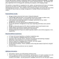 insurance cv examples resume for a call center job unforgettable call center