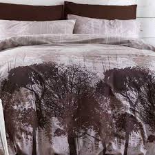 Woodland Duvet Catherine Lansfield Home Woodland Forest Trees Print Duvet Cover