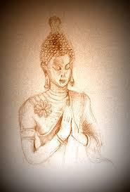 buddha pencil sketch u2013 mark bonington