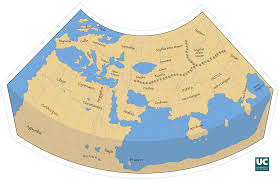 Asia Minor Map Claudius Ptolemy U0027s World Map 1400 908 Mapporn