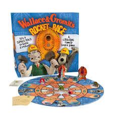 wallace gromit rocket race board game amazon uk toys u0026 games