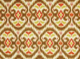 iman alhambra amour ikat upholstery fabric by the yard porcini