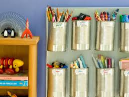 clever organizers can the clutter diy