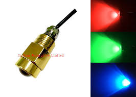 Boat Drain Plug Light High Lumen Brass Drain Plug Boat Underwater Led Lights With 9w