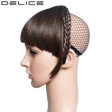 headband comprar delice 20pcs lot braids headband blunt bangs fringe neat with