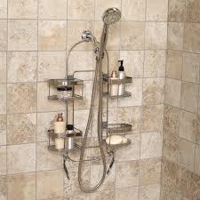 bath u0026 shower simplehuman shower caddy stainless steel shower