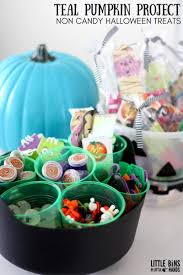non candy halloween treats and the teal pumpkin project