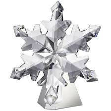 2012 swarovski snowflake ornament is the largest till date