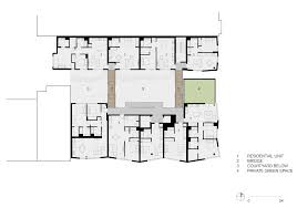 fougeron architecture clads a san francisco condo building in dark ground floor plan click for larger image fougeron architecture clads a san francisco condo building in dark wooden dowels