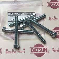 nissan genuine accessories india datsun 1200 gearbox fix bolts m8 l60 genuine fits nissan b110 ute