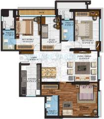 House Plan 1761 Square Feet 57 Ft by Adani Group Western Heights In Andheri West Mumbai Project