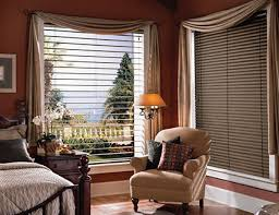 Wooden Blinds With Curtains Wood Blinds
