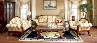 Empire Style Interior Elegant House Luxury European Italian Style Furniture And Lighting