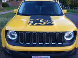 light yellow jeep 7 slot grill color jeep renegade forum
